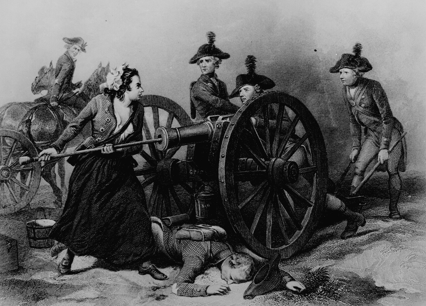 Mary Ludwig Hays McCauley (Molly Pitcher)