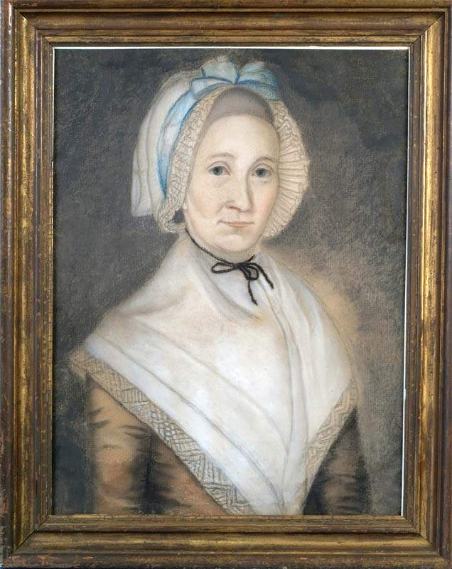 Oil Portrait of Jannetje Vrelandt Drummond, 1776 Image courtesty of the New Jersey Historical Society, Newark, NJ